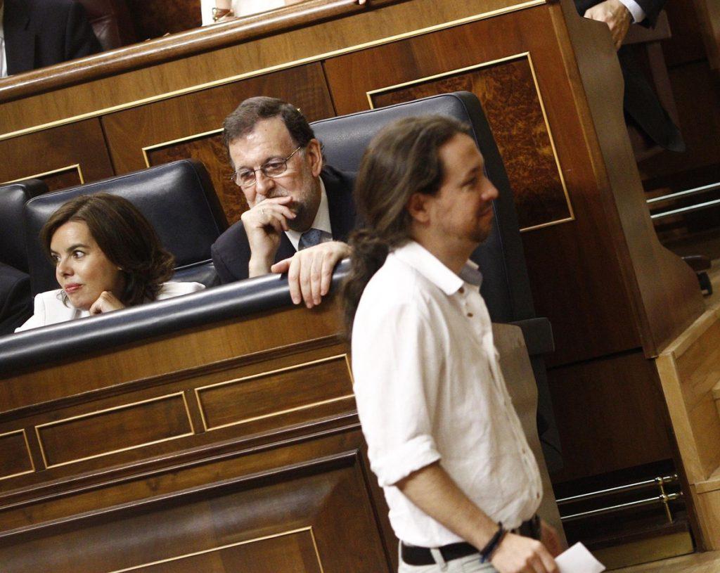 Unidos Podemos propone bajar el sueldo un 7% a todo el Gobierno alegando que estar en el cargo es «voluntario»