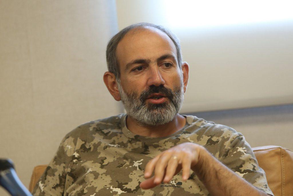 La caravana opositora comienza su recorrido por Armenia