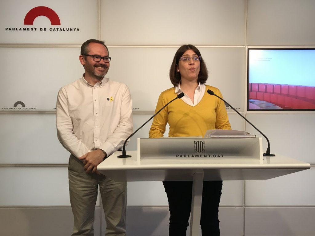 Diputados de JxCat defienden la investidura de Puigdemont o del candidato que él decida