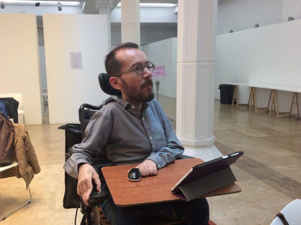 Echenique pide a Ciudadanos que «deje de apoyar al PP» en Madrid y contribuya a la regeneración política