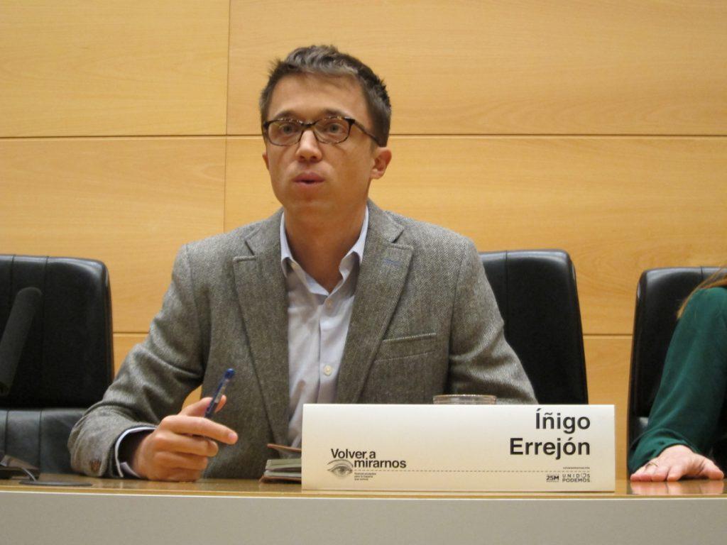 Errejón pide «que se corrija» la «infame» sentencia contra La Manada porque la víctima «sufrió violación»