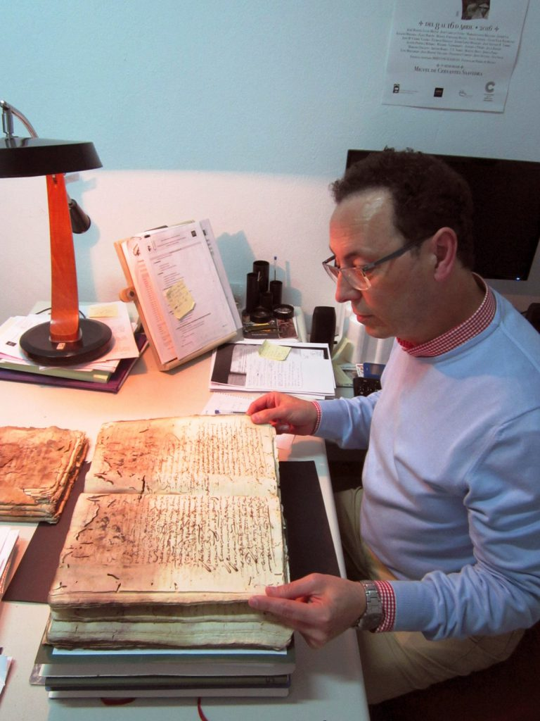 Hallados dos documentos inéditos sobre la labor recaudadora de Cervantes