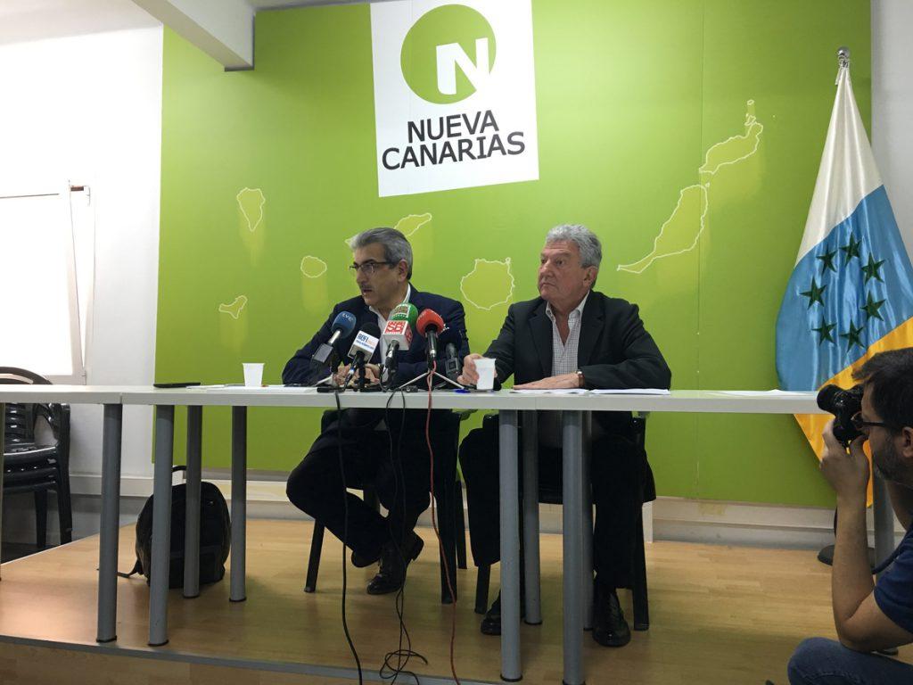 NC pone sobre la mesa Estatuto, REF, Reforma Electoral y enmiendas por 382 millones para apoyar los PGE