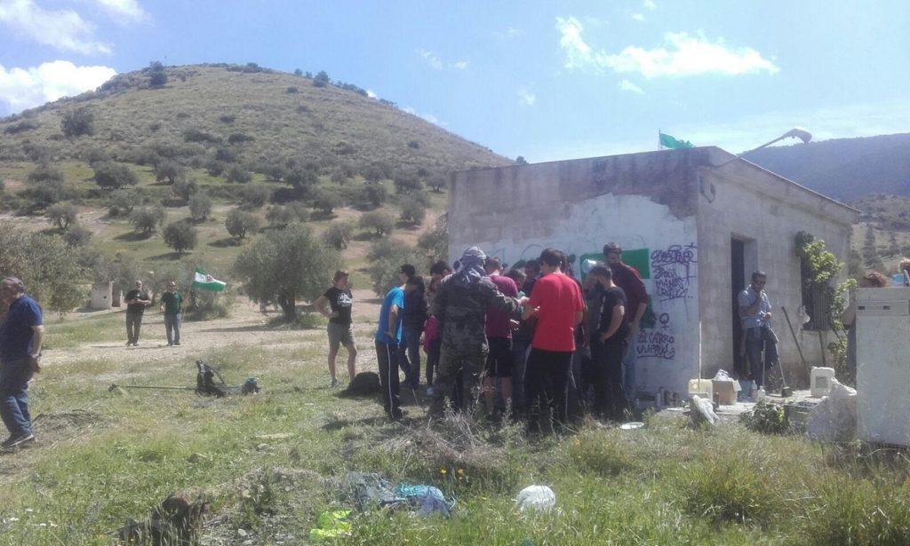 El SAT vuelve a ocupar la finca 'Cerro Libertad' para pedir que «esté al servicio de los trabajadores»