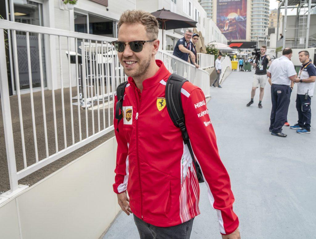 Vettel, por delante de Hamilton en la tercera sesión de entrenamientos libres