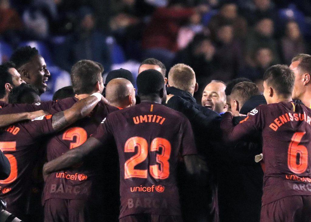 El Barcelona logra el doblete, el Nápoles KO y el Juventus acaricia el título