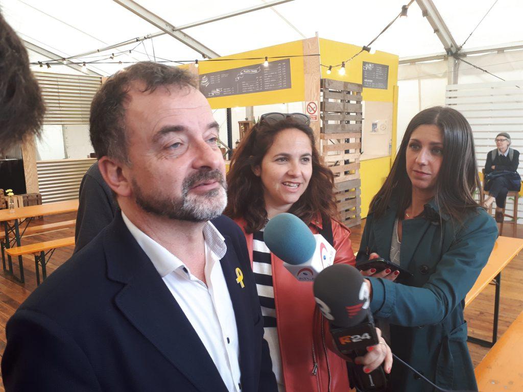 Bosch (ERC) culpa al Estado de que no haya presidente y pide no dar el Govern «a los del 155»