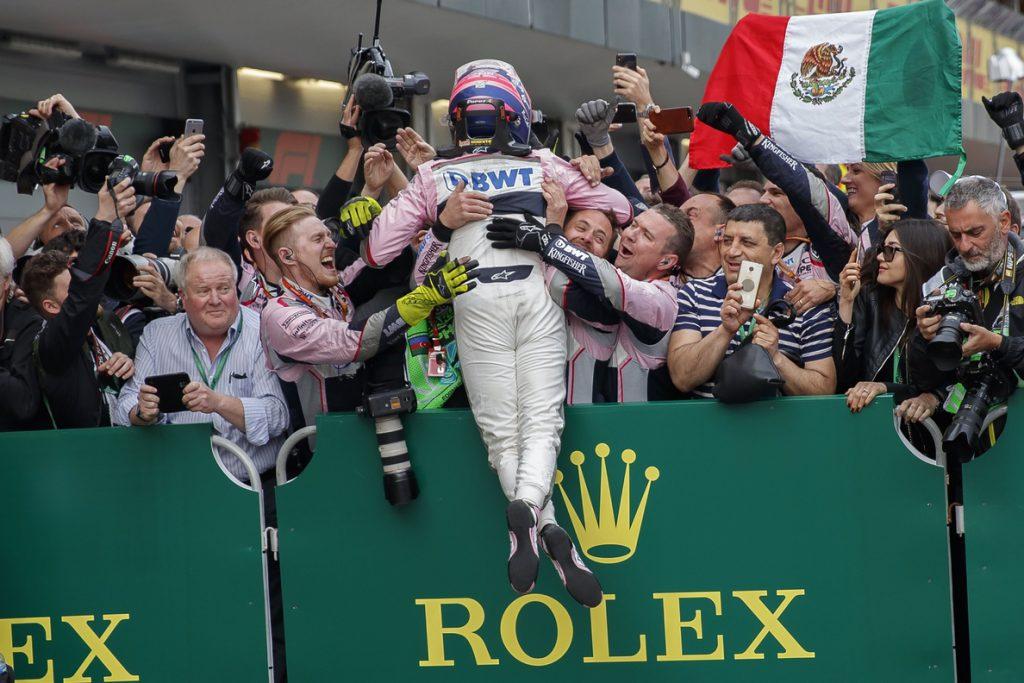 Pérez, tras su octavo podio en F1: «Hice las dos mejores vueltas de mi carrera»