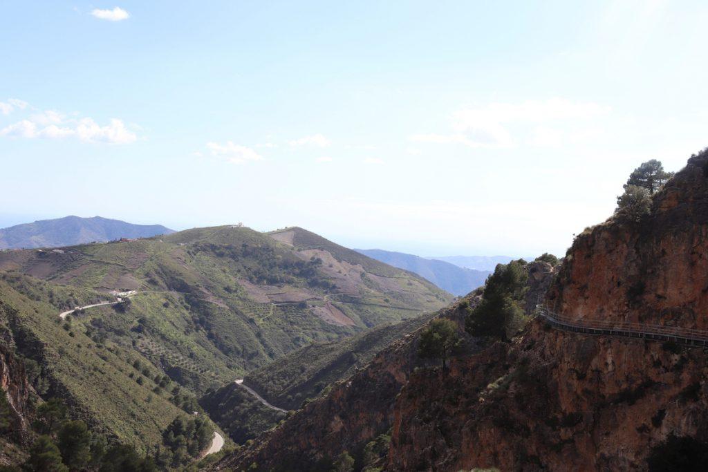 El Saltillo, el segundo caminito de Málaga