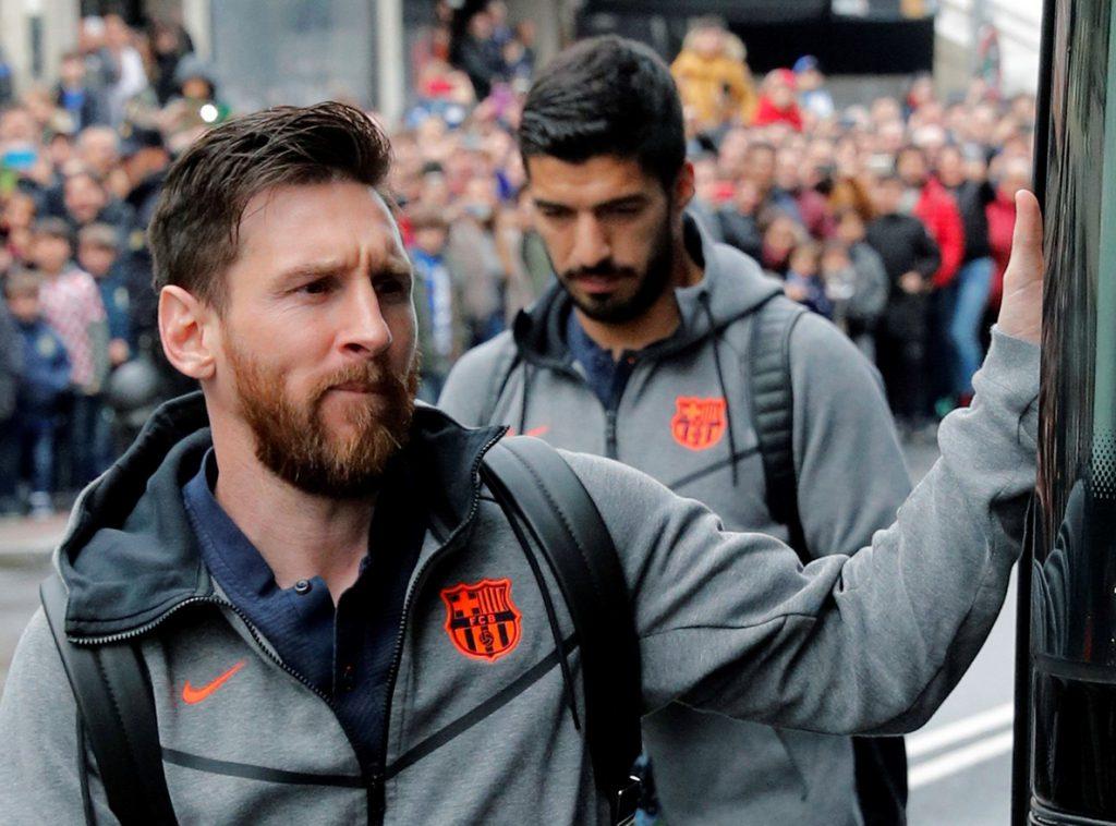 Valverde deja a Iniesta fuera del once de Riazor