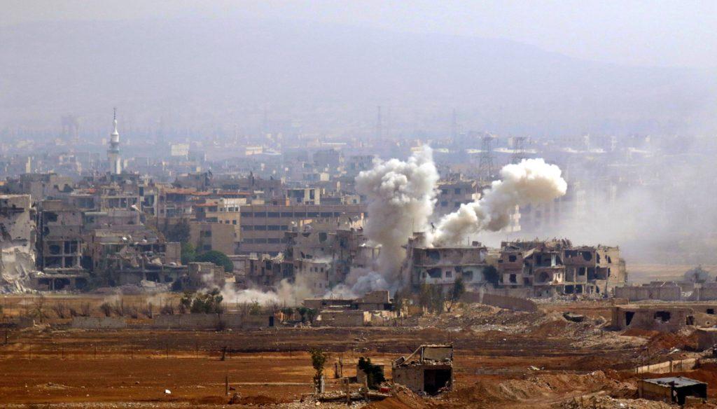Las fuerzas del Gobierno sirio intensifican los bombardeos en Homs