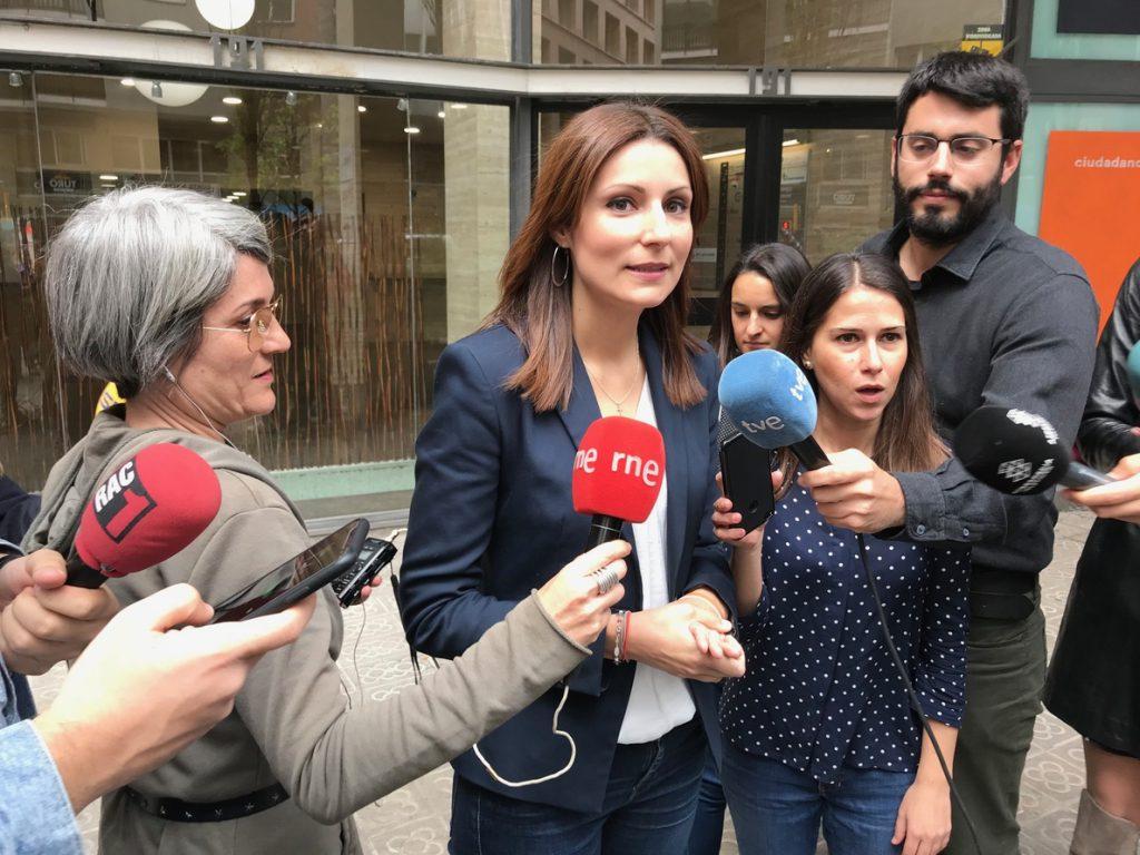 Cs se abre a estudiar la candidatura con partidos constitucionalistas que propone Manuel Valls para Barcelona