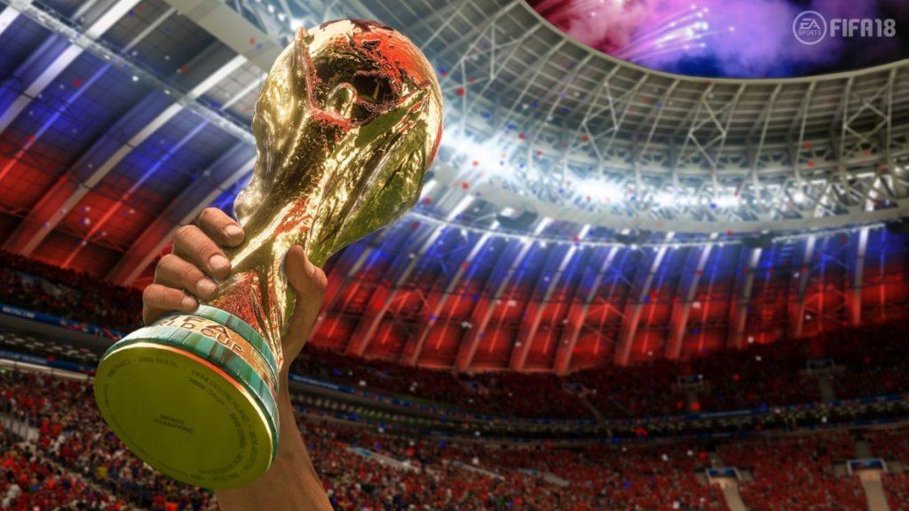 FIFA 18 recibirá la actualización de la Copa Mundial de Fútbol de Rusia el 29 de mayo