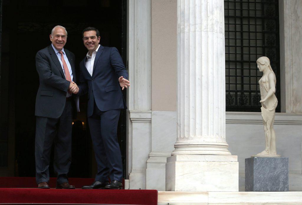 La OCDE alaba la recuperación de la economía griega y aboga por aliviar la deuda