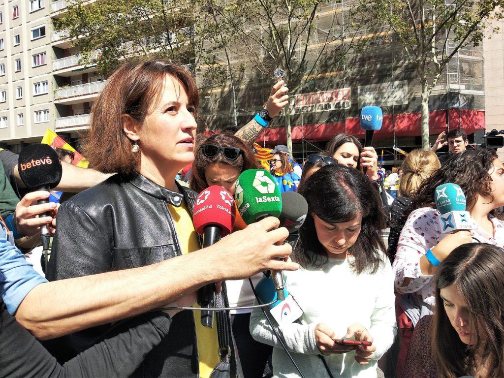 Paluzie (ANC) cree que lo «más coherente» es ir a elecciones si no se inviste a Puigdemont