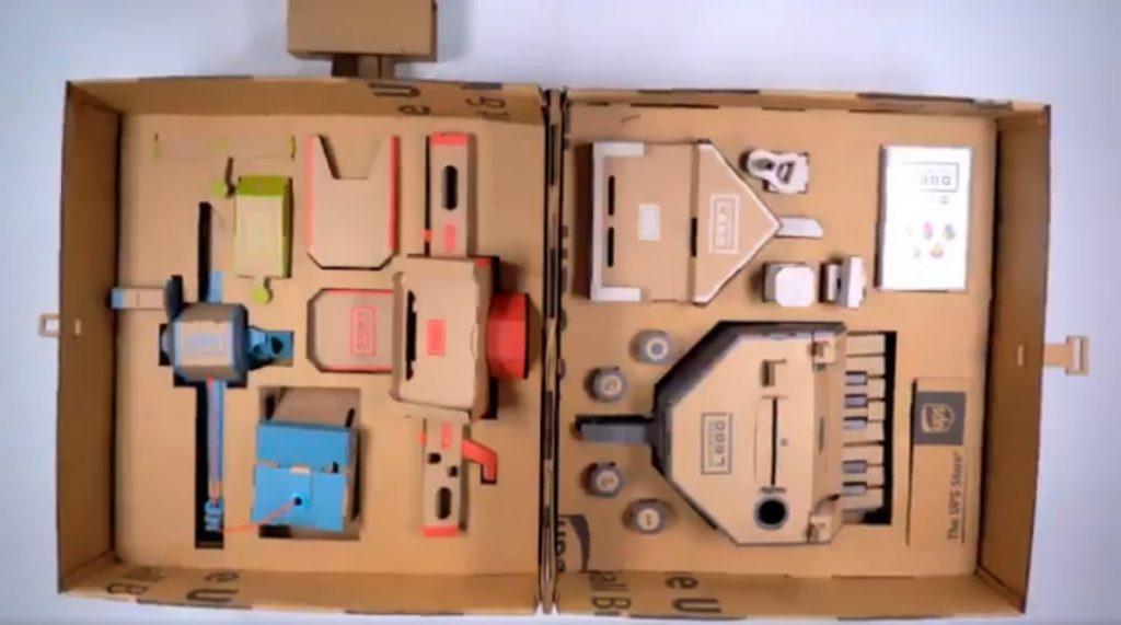La empresa de mensajería UPS se inspira en Nintendo Labo para crear un contenedor para guardar y transportar Toy-Con