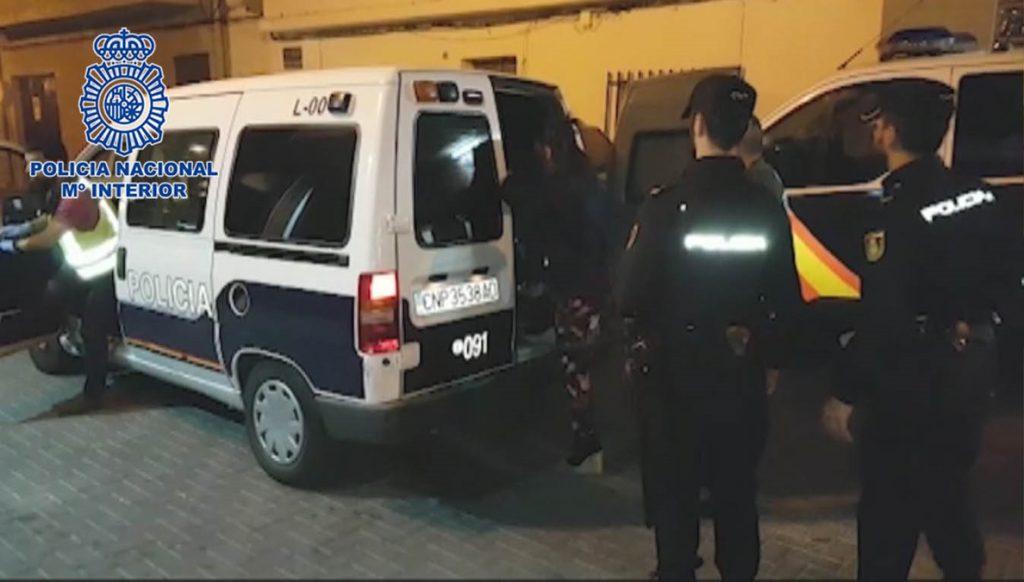 Nueve detenidos en un operativo de la Policía Nacional contra la trata de seres humanos en Fortuna (Murcia)
