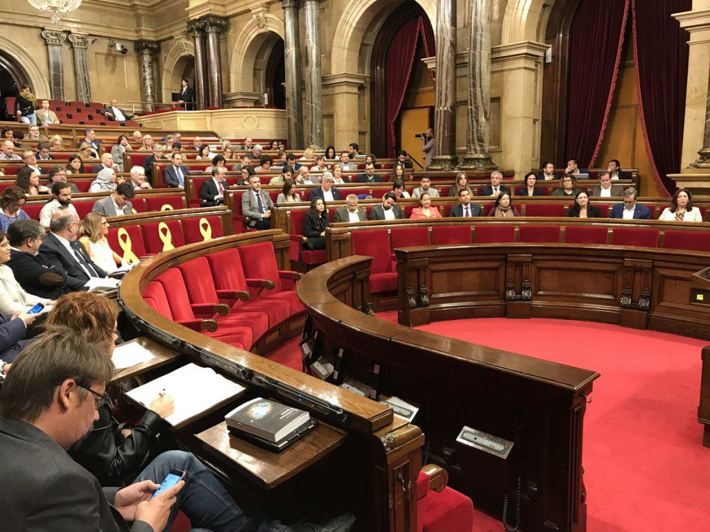 La ley para investir a Puigdemont a distancia llegará al pleno sin cambios sustanciales