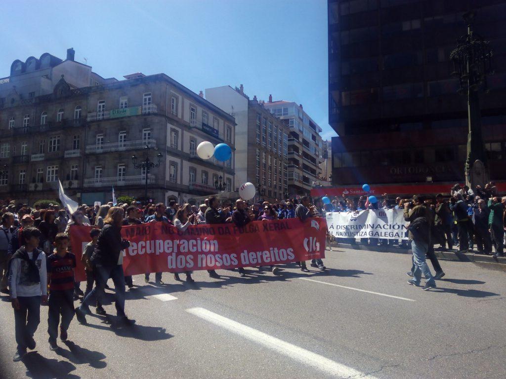 CIG convoca una huelga general en Galicia el 19 de junio para acabar con la precariedad laboral