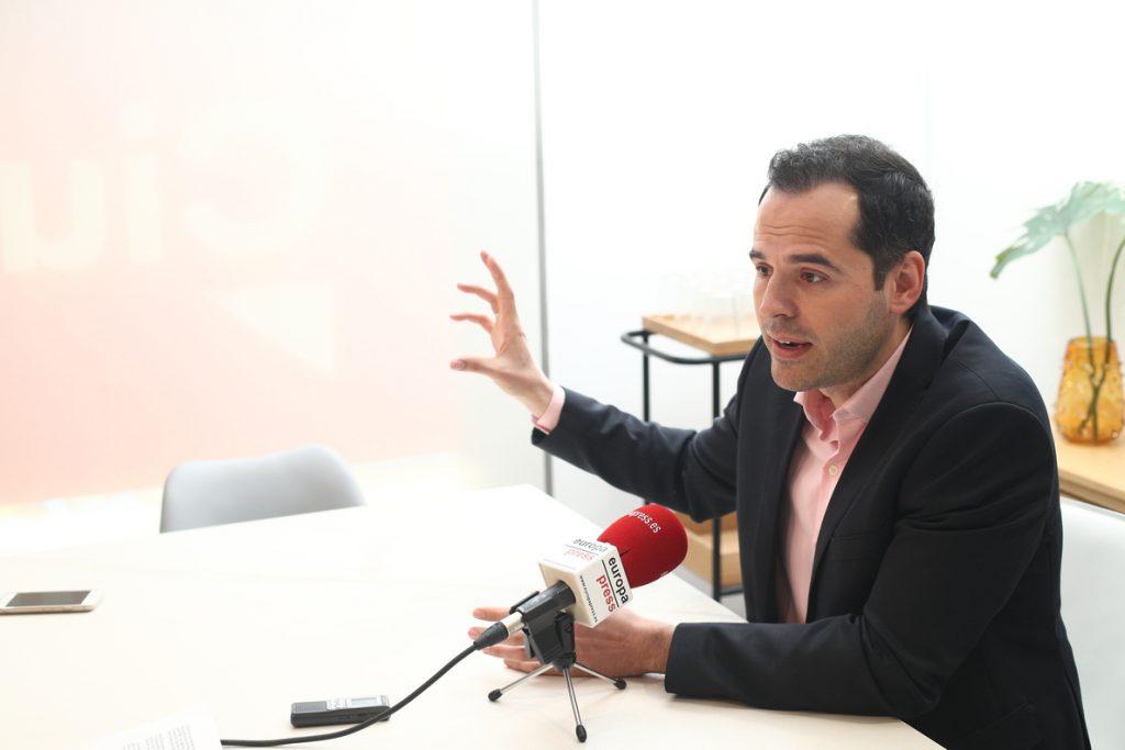 Ciudadanos insiste en esperar al candidato del PP a la Comunidad de Madrid y cierra las puertas a apoyar a Gabilondo