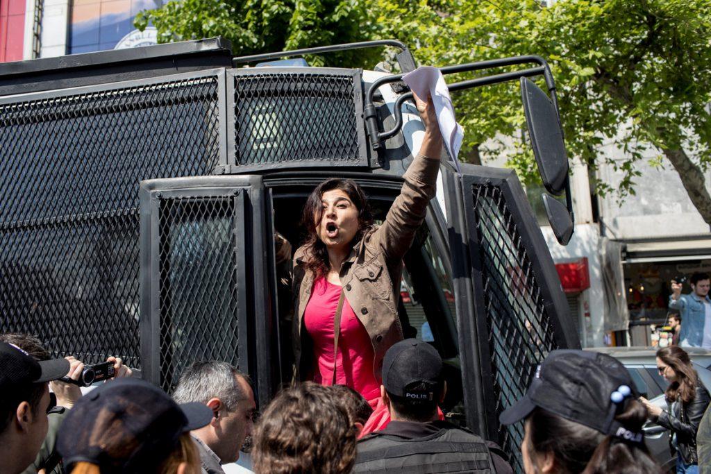 Detenidas en Estambul 77 personas por las manifestaciones del Primero de Mayo