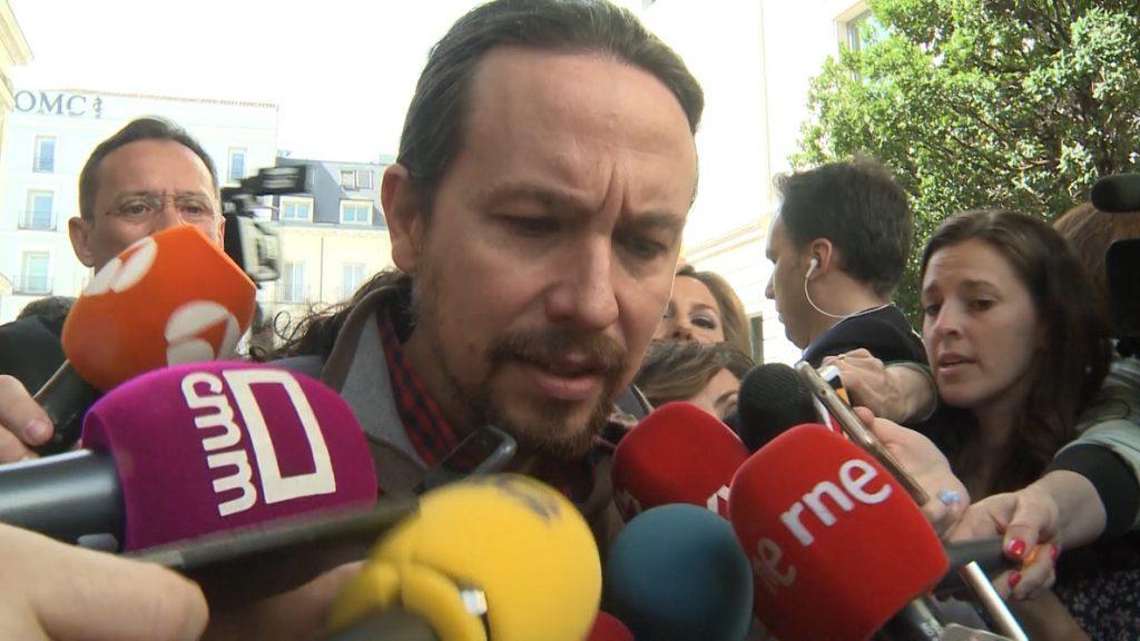 Pablo Iglesias: «Catalá tendría que haber dimitido hace mucho tiempo»