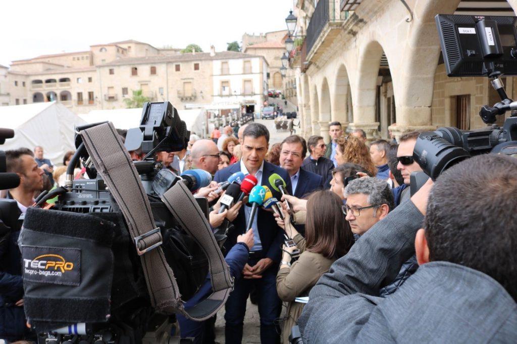 Sánchez arremete contra la propuesta de candidatura unitaria de Rivera: «Demuestra que no tiene equipo ni candidato»