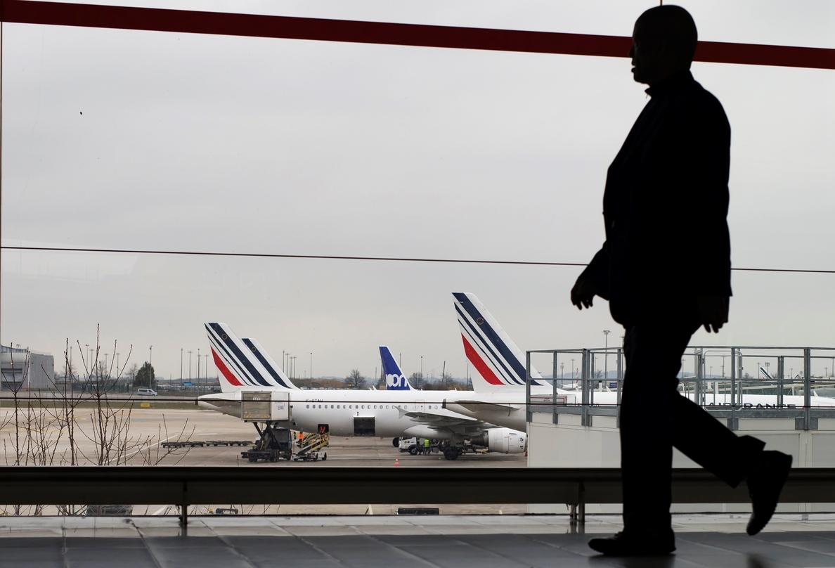 Air France garantiza el 85 % de sus vuelos en la nueva huelga de mañana