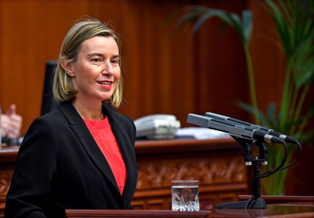 Mogherini y los grandes partidos del PE apuestan por la suspensión de las elecciones en Venezuela