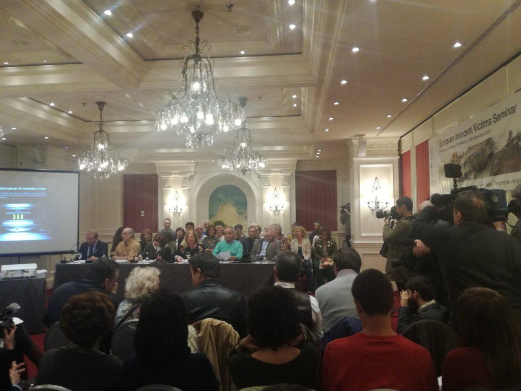 Ordóñez (Covite) acusa al Gobierno Rajoy de «hurtar a las víctimas la foto de la derrota de ETA»
