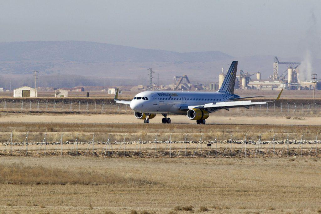 Vueling cancela 232 vuelos entre el jueves y el viernes por huelga de pilotos