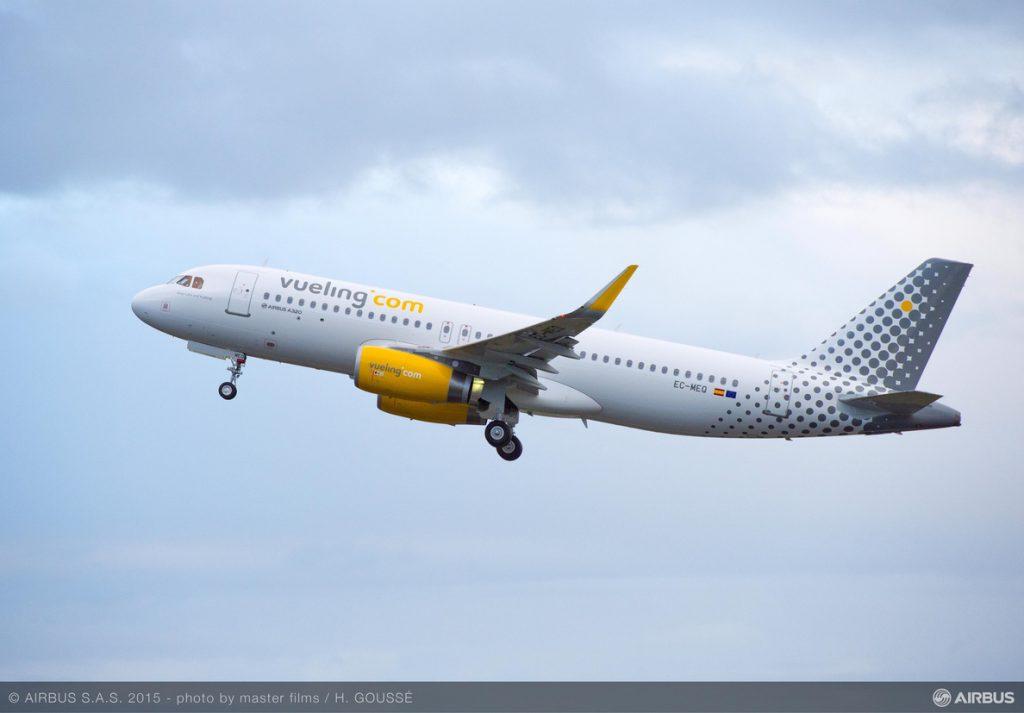 Vueling sube a 232 los vuelos cancelados por la huelga de pilotos de este jueves y viernes