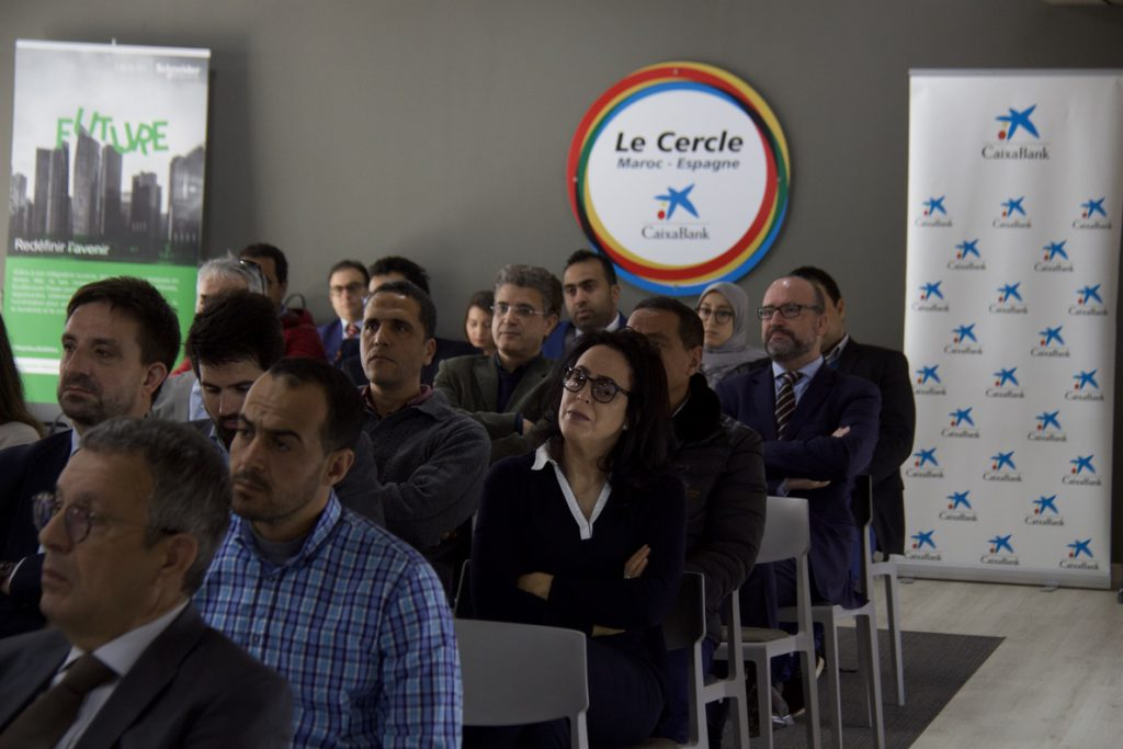 CaixaBank analiza en Marruecos cómo mejorar la productividad con la eficiencia energética