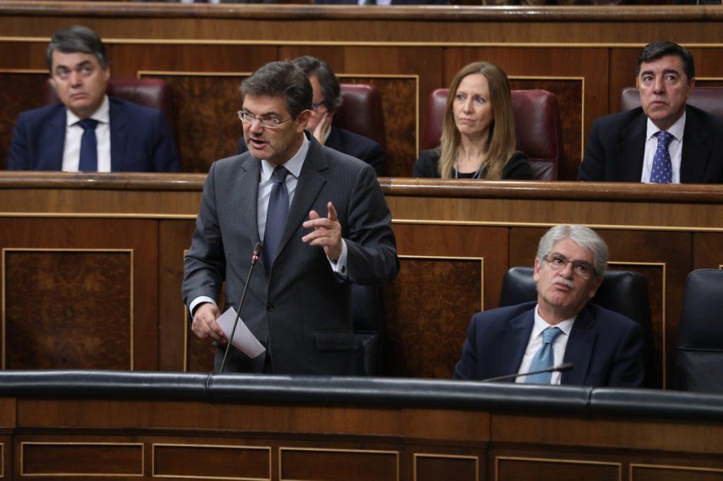 ERC pregunta a Catalá en el Congreso si hay más jueces con «algún problema» como el del voto particular de 'La Manada'
