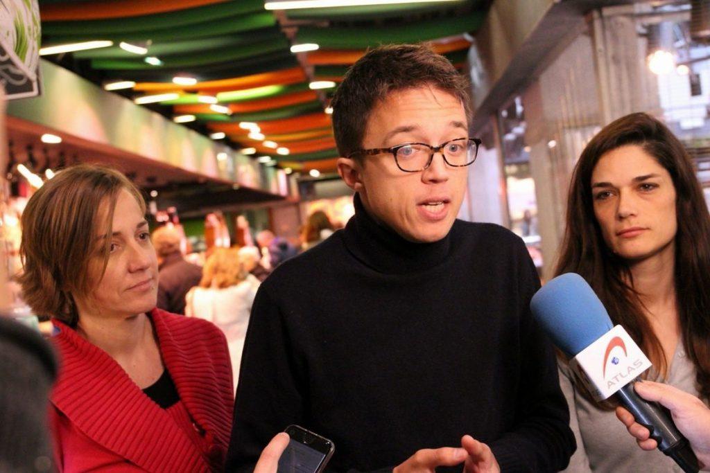 Errejón cree que darle el poder a Garrido sólo servirá para alargar la «crisis moral e institucional» de la Comunidad