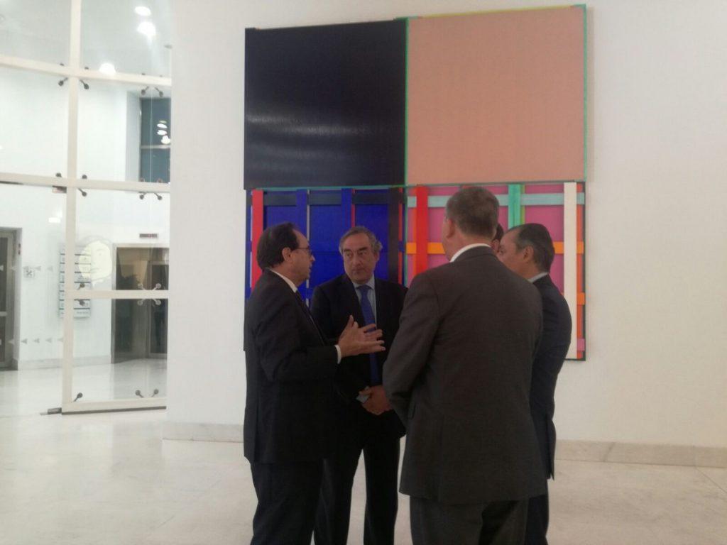 Rosell (CEOE) insta a resolver la financiación del eje Mediterráneo «no con palabras sino con hechos»