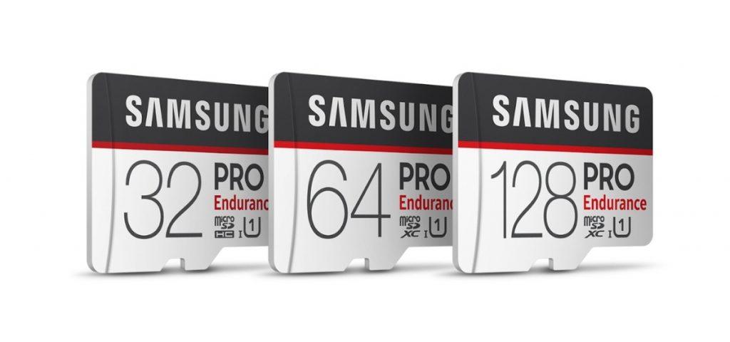 Samsung presenta la tarjeta PRO Endurance, disponible en 128GB