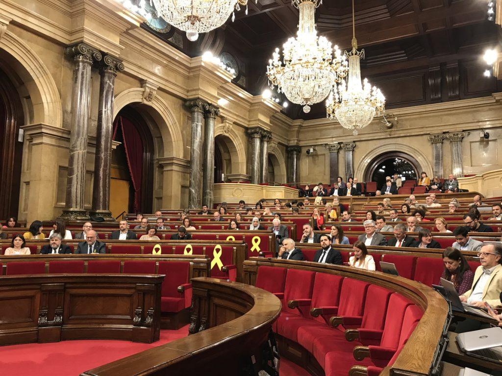 El Parlament aprueba la ley para investir un presidente a distancia y ERC admite que no se podrá aplicar