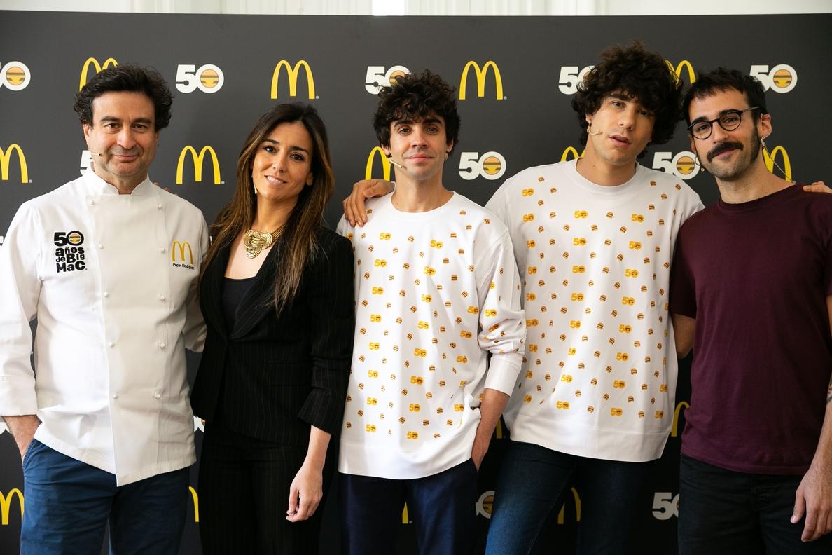 McDonald»s celebra los 50 años de su icónica »Big Mac» mirando al futuro