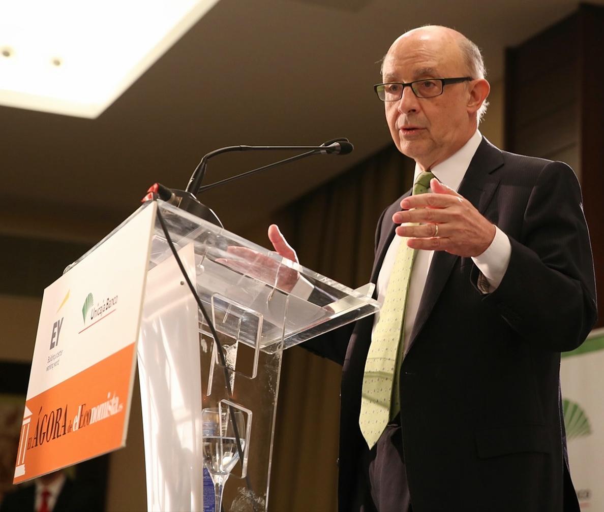 Montoro afirma que las retenciones del IRPF están reflejando ya un aumento de los salarios