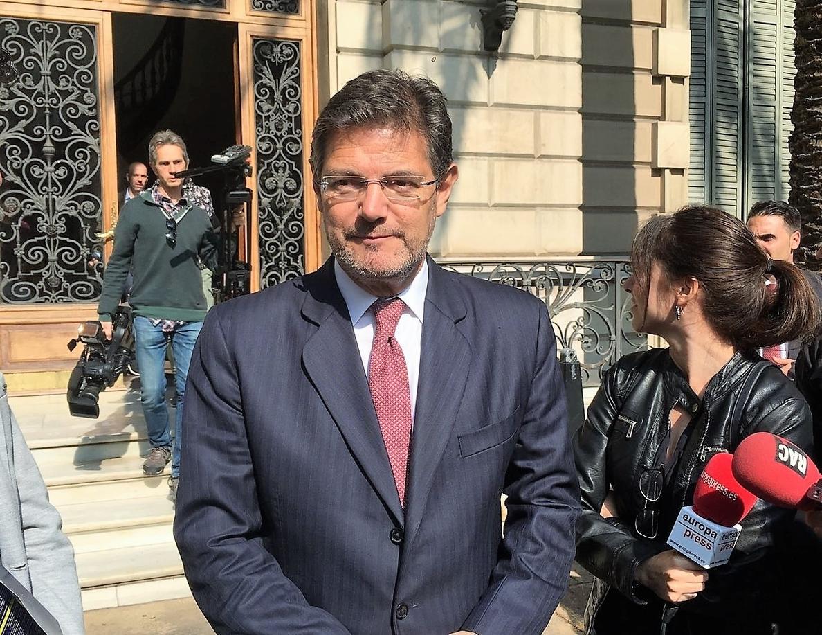 Catalá dice que el modelo de la euroorden no ha funcionado «con la agilidad que se pretendía»