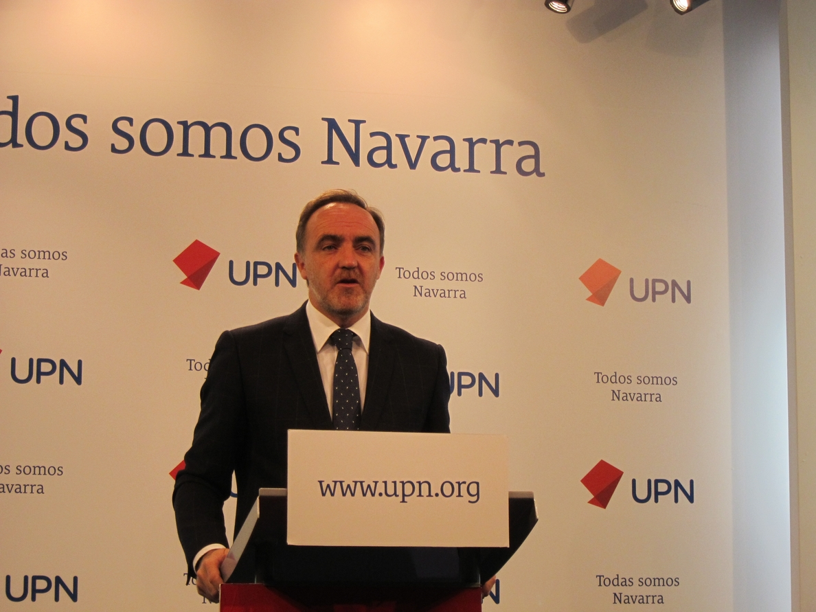 Esparza afirma que hay un «escollo» con el PP en la negociación de los PGE y «ese escollo se llama PNV»