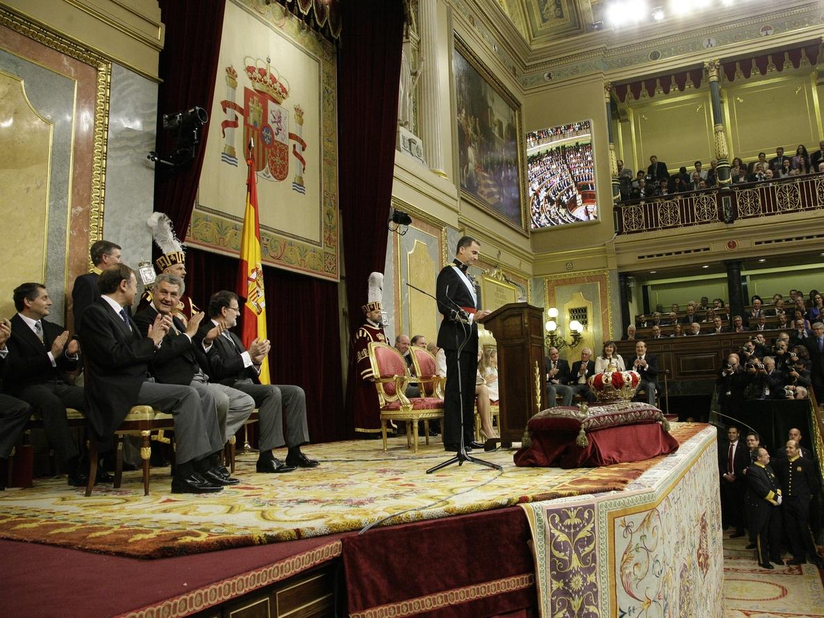 Monedas de 400, 50 y 10 euros para celebrar el 50 aniversario del Rey Felipe VI