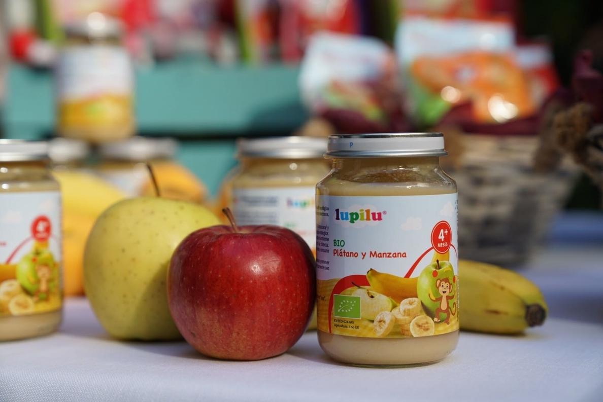 Lidl apuesta por la sostenibilidad con una línea de alimentación infantil de marca propia exclusivamente bio