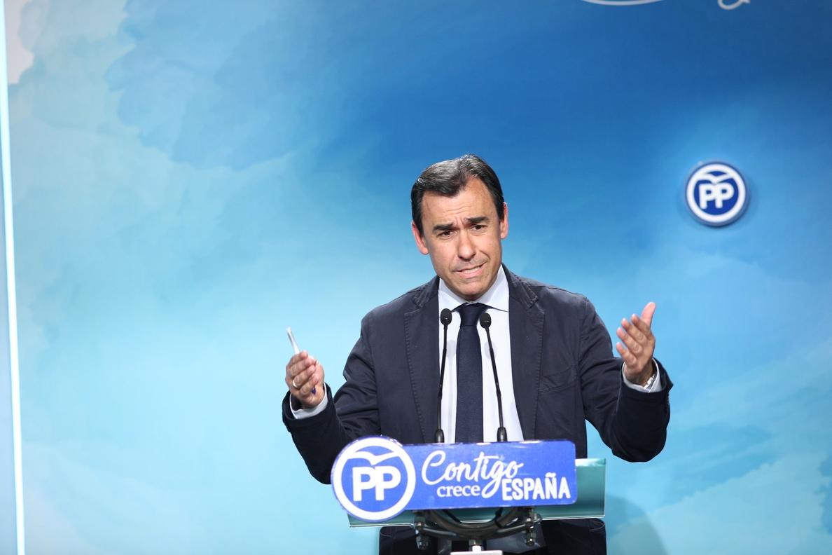 Maillo asegura que Garrido tiene «todo el apoyo» y la «confianza» del PP: «No conozco nada que se le pueda rechazar»