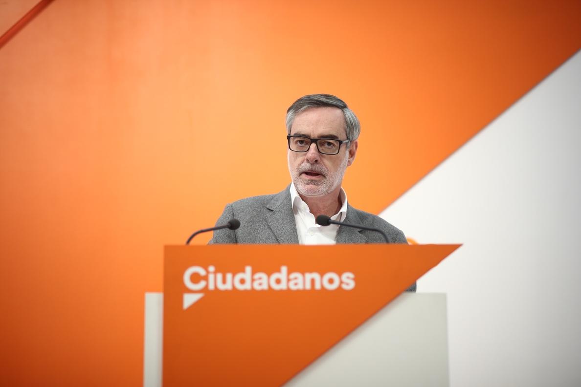 Villegas asegura que «Ciudadanos no tiene nada que ver» con las noticias sobre los estudios de Pablo Casado