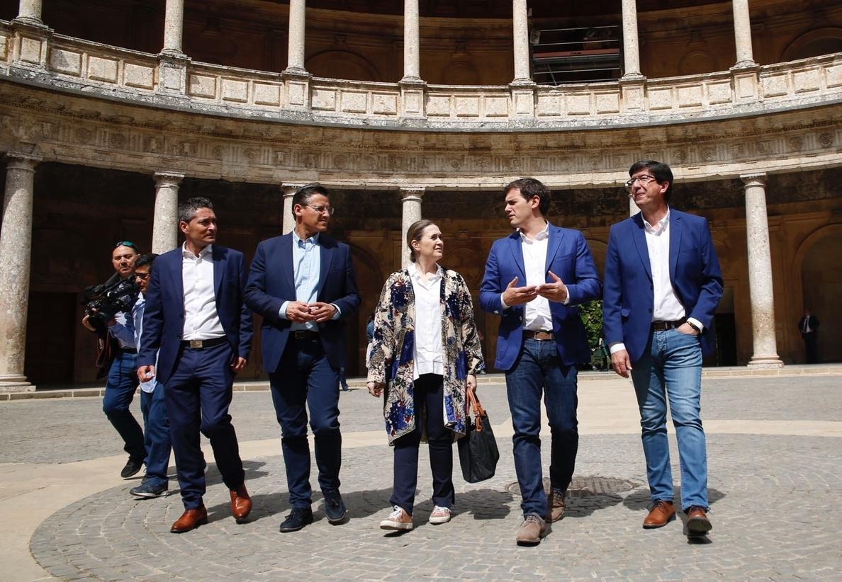 Albert Rivera pide «cooperar» para que Algeciras «no sea un lugar sin ley donde narcos marquen la vida diaria»