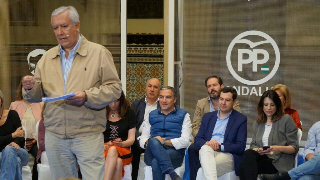 Arenas destaca que Rajoy y Juanma Moreno «tienen el mismo modelo» para la financiación autonómica y el PSOE no
