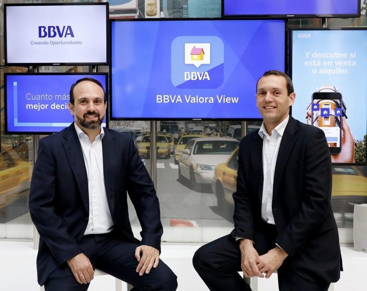 BBVA lanza una app móvil gratuita para buscar vivienda a través de realidad aumentada