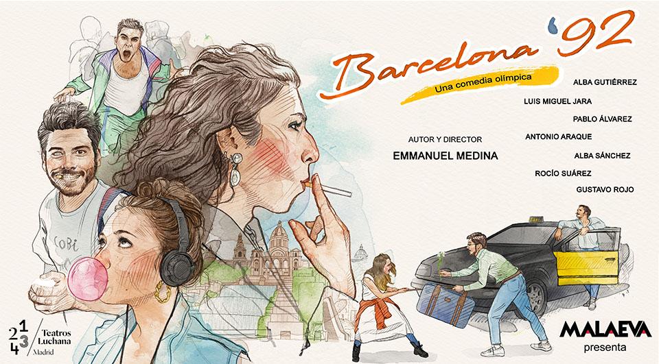 Nostalgia y comedia en »Barcelona 92»